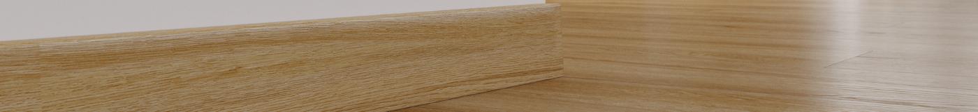 Listwy przypodlogowe w kolorze drewna Arbiton
