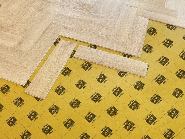Choose an underlay for the panels